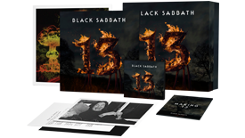 Capa de '13' Super Deluxe Box Set.