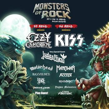 Monsters Of Rock 21 anos - Post�r de divulga��o
