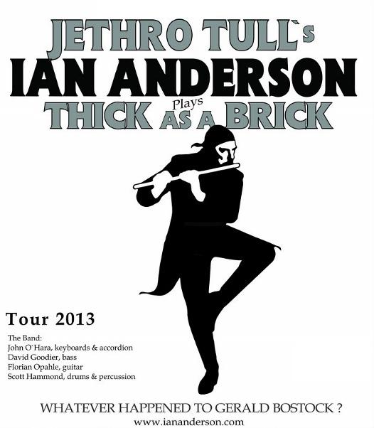AN ANDERSON – LÍDER DO JETHRO TULL na America do Sul em março de 2013