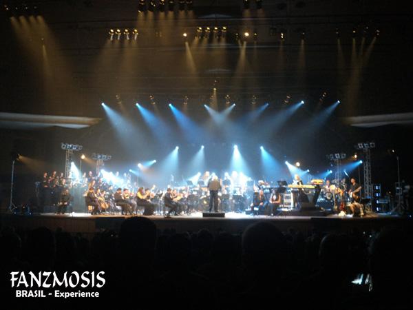 RICK WAKEMAN com Orquestra e Coral - foto por:  Michel Fares Filho - fotografo/imprensa do Fanzmosis