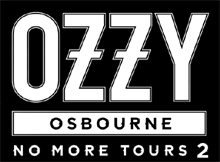 Logo Ozzy Osbourne No More Tours 2