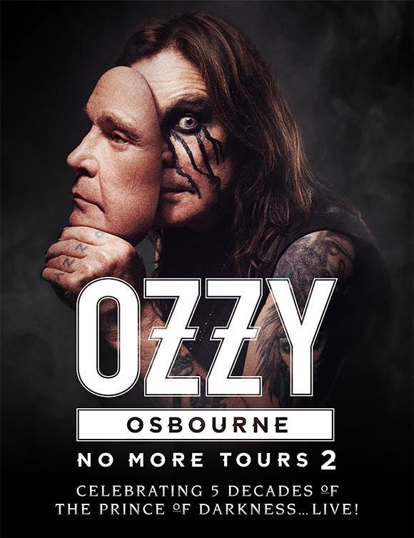 Ozzy Osbourne No More Tours 2 - Pôster