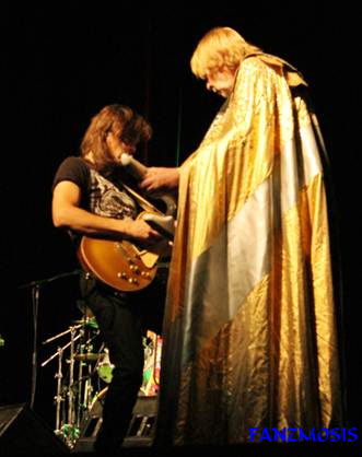 Rick Wakeman e Dave Colquhoun no Teatro Bratesco em SP dia 21-11-2012 -  Foto by Fanzmosis/Wagner Picolli