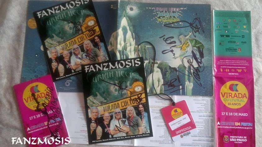 Uriah Heep na Virada Cultural em SP. SP by Fanzmosis